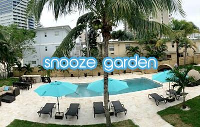 snooze garden
